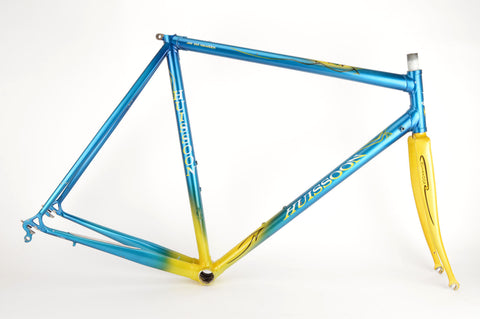 Huissoon frame in 56 cm (c-t) / 54.5 cm (c-c), with Columbus Max tubing