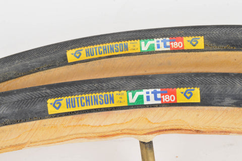 NEW Hutchinson VIT 180 Tubular Tires 700c x 23mm from the 1980s NOS