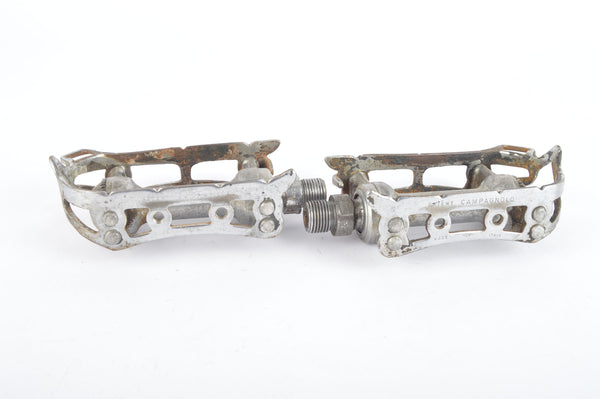 Campagnolo Record Strada #1037 Pedals with english threading from the 1960s - 80s