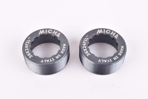 NOS Miche Bottom Bracket Cups with italian thread 36mm x 24T