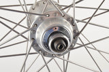 Wheelset with Mavic MA2 clincher rims and Shimano Dura-Ace first gen. hubs from 1977