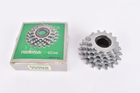 NOS/NIB Regina CX/CX-S 6-speed Freewheel with 13-21 teeth and BSA/ISO threading from the 1980s
