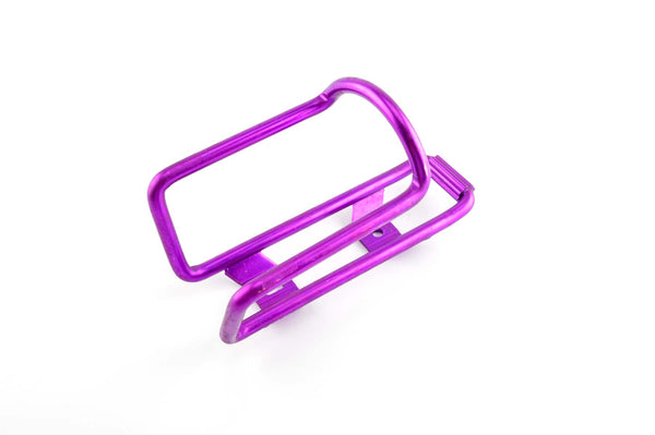 NEW purple anodized Aluminium water bottle cage from 1990s NOS