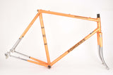 Fongers Competition frame in 57 cm (c-t) 55.5 cm (c-c) with Ishiwata CrMo 022 tubing