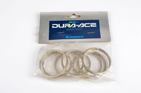 NOS Shimano Dura-Ace Cassette Spacers (7 pcs) from 1990