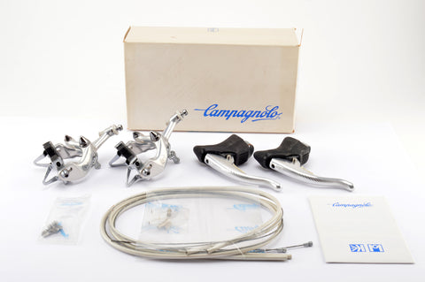 NEW Campagnolo Athena #D500 brakeset with black hoods from 1988-92 NOS/NIB