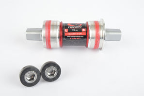 Token #TK866CM JIS square taper bottom bracket with english threading and 103 mm - 127.5 mm axle