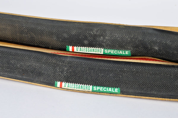 NEW D'Alessandro Speciale Tubular Tires 700c x 23mm from the 1970-80s NOS
