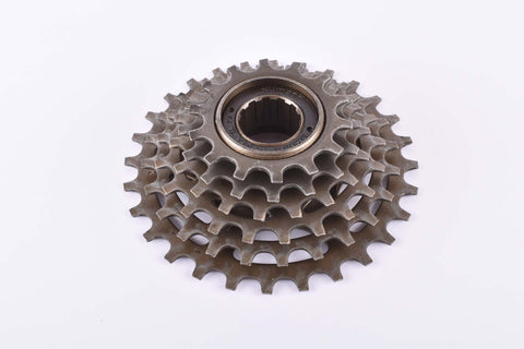 Shimano MF-Z012 6-speed Uniglide freewheel with 14-28 teeth and english thread from 1986