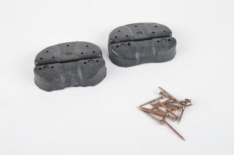 NOS Plastic nail-on shoe cleats from the 1970s NIB