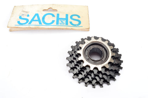 NEW Sachs Maillard #J 92 6-speed Freewheel with 14-24 teeth from the 1980s NOS