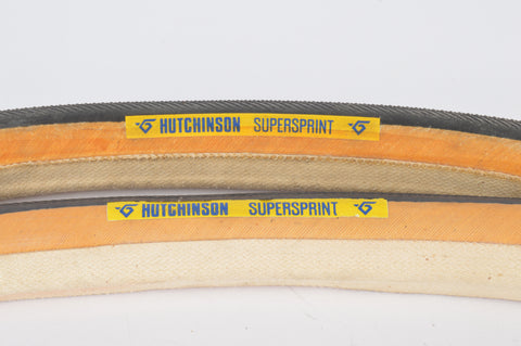 NEW Hutchinson Supersprint Tubular Tires 700c x 23mm from the 1980s NOS