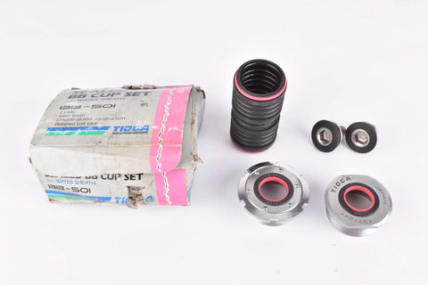 NOS/NIB Tioga #BB-501 double sealed Bottom Bracket Cups with english (BSA) thread