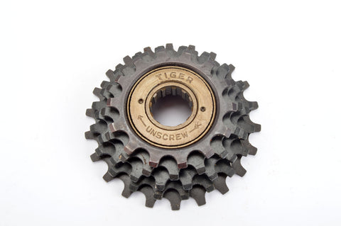 NEW Tiger 5-speed Freewheel with 14-22 teeth from the 1980s NOS