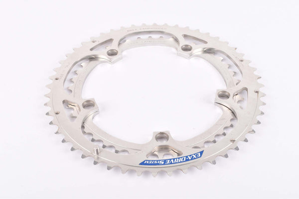 NOS Campagnolo Exa-Drive System chainring set with 52 and 42 teeth and 135 BCD from the 1990s