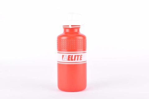 Elite Vintage Eroica water bottle in elite red
