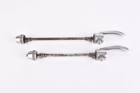 Shimano 600/600 EX quick release set, front and rear Skewer from the 1970 - 80s