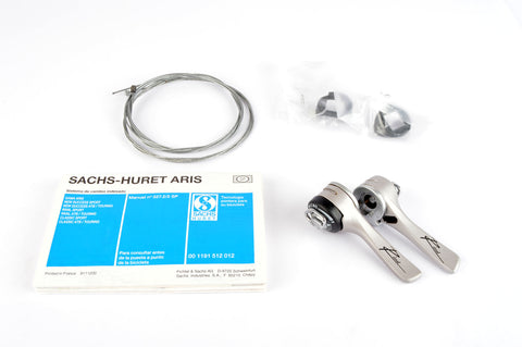 NEW Sachs Rival 7000 2/3-8speed braze-on shifters from 1990s NOS/NIB