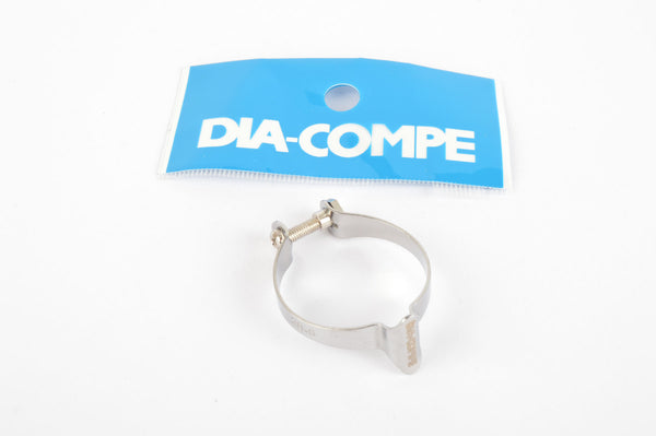 Single Dia-Compe clamp on cable guide in 28.6 diameter #99B104