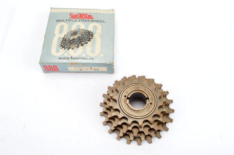 NEW Suntour Perfect 5-speed Freewheel with 14-22 teeth from the 1980s NOS