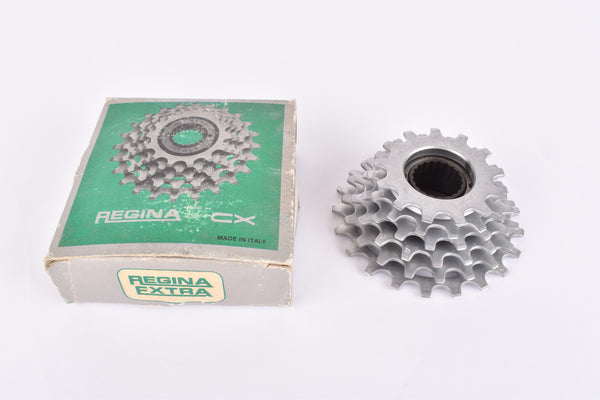 NOS/NIB Regina CX/CX-S 6-speed Freewheel with 13-21 teeth and french threading from the 1980s