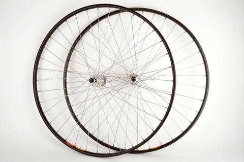 Wheelset with Mavic GP4 Tubular Rims and Campagnolo Record #1034 Hubs from 1980s