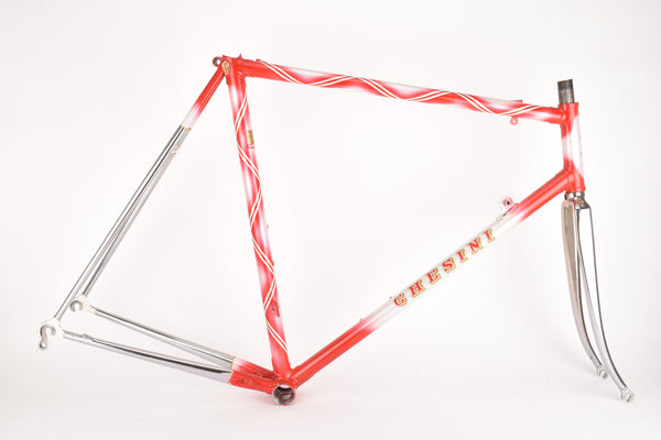Chesini X-Uno frame  in 57.5 cm (c-t) / 56 cm (c-c), with Columbus SLX tubing