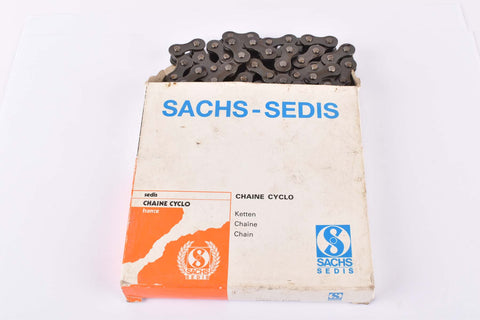 NOS/NIB Sachs-Sedis #642787 chain 1/2 x 3/16, 110 links from the 1980s