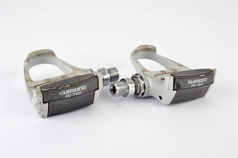 Shimano Dura-Ace #PD-7401 Pedals with english threading from the 1990s