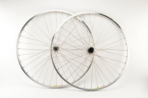 Wheelset with Mavic MA 3 clincher rims and Campagnolo Chorus hubs from the 1980s - 90s