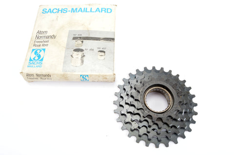 NEW Sachs Maillard 5-speed Freewheel with 14-28 teeth from the 1980s NOS