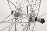 Wheelset with Mavic Monthlery Pro Tubular Rims and Zeus New Racer Hubs from 1980s New Bike Take-Off