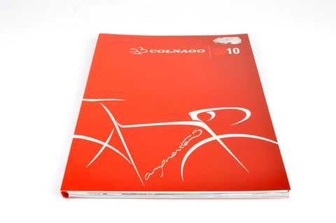 NEW Colnago Catalog 2010 with EPS | CX-1 | Master 55th | Super | Flight | Rock | CF7 | Pista