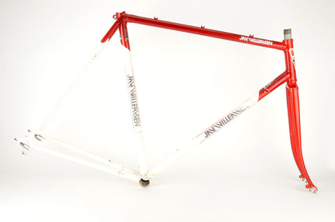 Jan Willemsen frame 58 cm (c-t) / 56.5 cm (c-c) Reynolds 531 / Columbus