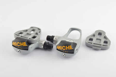 NEW Miche 302 SPD-SL clipless pedals from the 1990s NOS