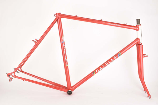 Gazelle Cross Trophy Cyclocross frame in 55.5 cm (c-t) / 54 cm (c-c) with Campagnolo Dropouts