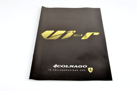 NEW Colnago Catalog with V1-r Ferrari