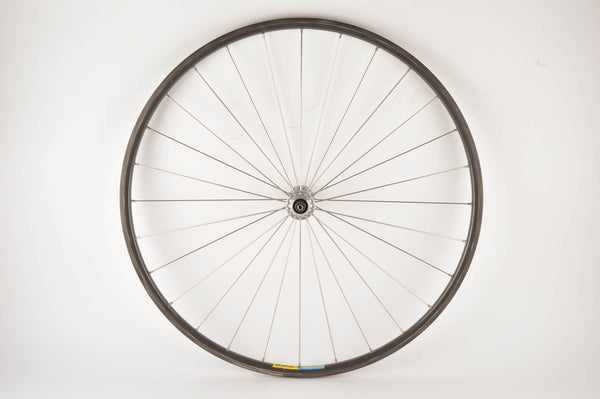 "Radial 26"" TT front Wheel with Mavic Open 4CD clincher rim and Ofmega Super Competizione hub from the 1980s"