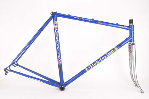 Gios Super Record frame in 55 cm (c-t) / 53.5 cm (c-c) with Columbus tubes