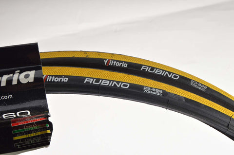 NEW Vittoria Rubino Tires 700c x 23c from the 1990s NOS