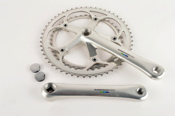 Shimano 600 Ultegra Tricolor #FC-6400 crankset with 42/53 teeth and 175mm length from 1991