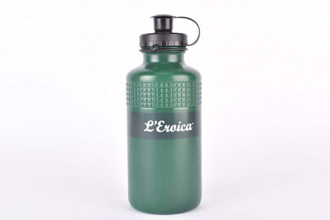 Elite Vintage Eroica water bottle in olive green