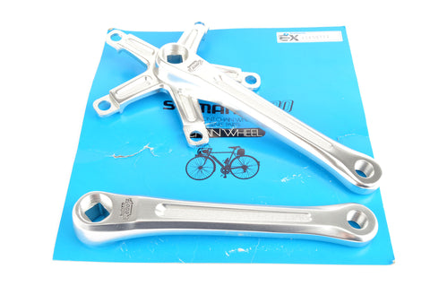 NEW Shimano 600EX Arabesque #FC-6200 crankset in 170 mm length from 1983 NOS/NIB