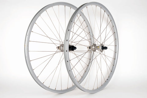 "26"" Wheelset with Clincher rims and Deore HB/FH-595 hubs from 1990s"