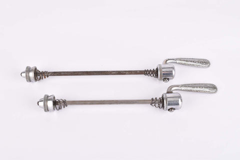 Campagnolo quick release set Nuovo Tipo #1310 and #1311 front and rear Skewer from the 1960s - 70s