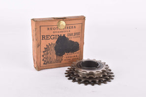 NOS/NIB Regina (Soc. Ital. Catene Calibrate-Merate) Extra (Oro?!) 4-speed Freewheel with 17-23 teeth and italian thread from 1953