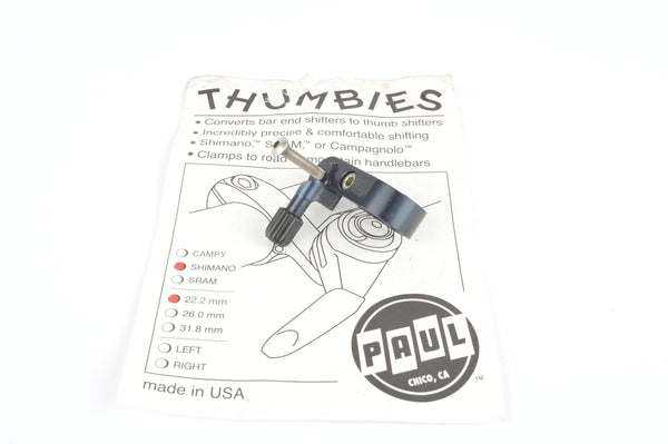 Paul Components Thumbie shifter mount for Shimano from the 2010s