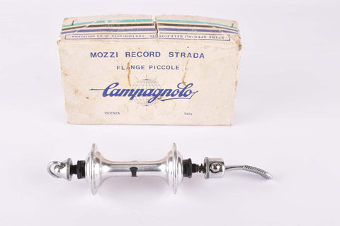 NOS/NIB Campagnolo Record Strada #1034 Low Flange front Hub with 36 holes