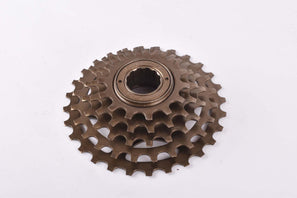 NOS Shimano #MF-Z015 5-speed Uniglide (UG) freewheel with 14-28 teeth an english thread from 1993