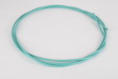 Jagwire brake cable housing / size 5.0 x 2500 mm in turquoise